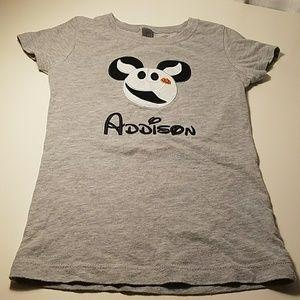 """Custom Disney Style Tshirt """"Addison"""""""